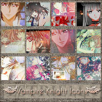 Vampire Knight icons by Estriella