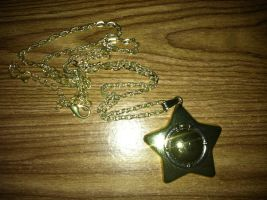 Sailor Moon Star Locket Necklace by SakuraH18