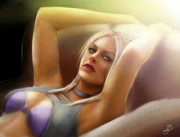 Nina Williams by GiuliaSt