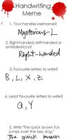 Handwriting meme by Mysterious-L