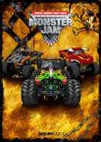 Monster Jam Cover by Sgrum