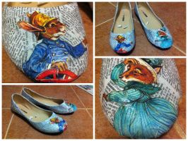 Book Shoes by hankered-waistline