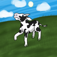 A Cow for Allison by Acoyph