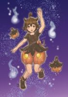 Pumpkaboo Gijinka by GM-Pi