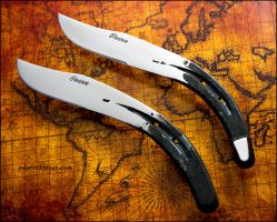 Horseshoe Knives by Logan-Pearce