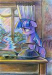 Twilight Sparkle Makes a Cup of Tea by Maytee