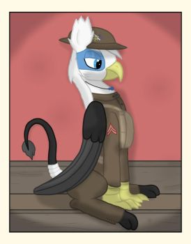 Corporal J. R. - Gift by cowboyjt