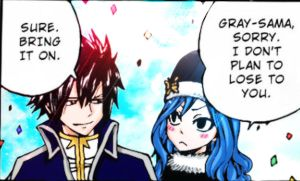 Gray y Juvia by imagleekandproud
