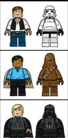 LEGO SW Characters by grantgoboom