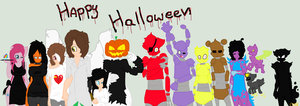 Happy Halloween From InSAnE Crew by CharTheCharmanderLOL