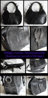 Biomechanoid 'Giger' Bag by TheGoddess908