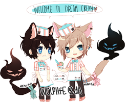 welcome to dream cream by wolphfe