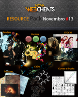 Resource Pack Mensal Novembro 13 by PortillaDesign