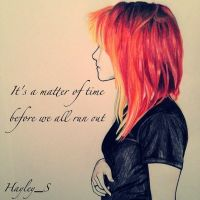 Riot! Hayley williams from Paramore by Samdrak