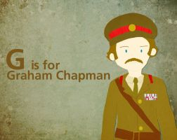 G is for Graham Chapman by whosname