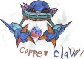 Copper Claw the Metang