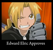 Edward Elric Approves by Arcathios
