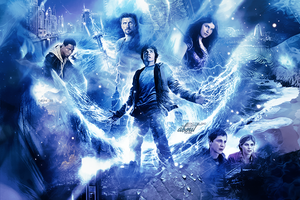 Header - Percy Jackson by WonderTemplates