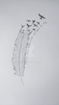 Feather by carver90
