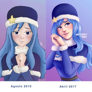 Juvia -  Anotherdeytodraw by Anotherdeytodraw