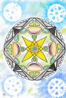 Feast of Innocence mandala by LoveLiveLilith