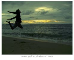 me,alone and the sunset pag2 by yudiari