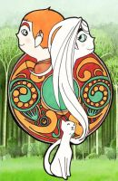 Secret of Kells by ph34rthecuteones