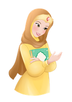 Belle Hijab ~ Commission by ainosora