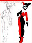 Harley Quinn - Batman the Animated Series by inspired-flower