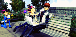 MMD Rivalshipping (picture request) by GumiCandy