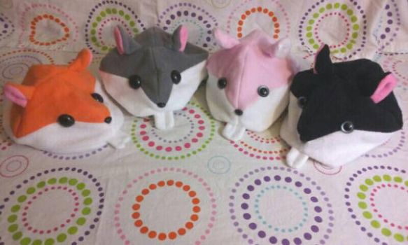 Hamster hats  by Sew-it-all