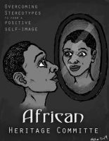 African Heritage Poster by Rococokara