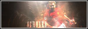 Paul Scholes by comby