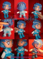 chibi Sailor Mercury plush ver by Momoiro-Botan