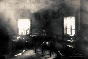 Chamber in the old hut ... by mirandaarts
