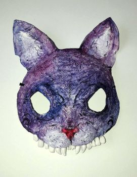 Halloween Cat Mask by Rednon