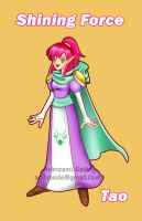 Tao the Mage Shining force by Artemode
