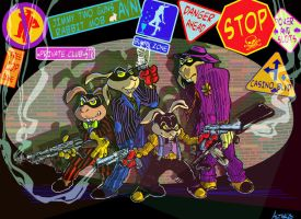 jimmy two silvers gun mob by altarisart