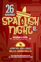 spanish night poster by sounddecor