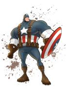 Captain America Version 2 by VAMPDWARF