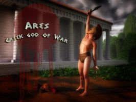 Ares-Greek god of War by vicster56