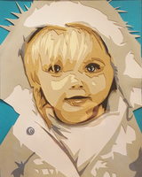 Paper Cut Baby by tripperfunster
