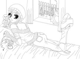 Chillin Outlines by Hizaki-psych