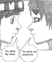 Gaara and Rock Lee Speak Out by Smexy-L