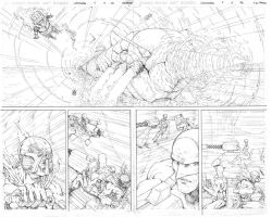 Extermination #5 pages 14-15 by vmarion07