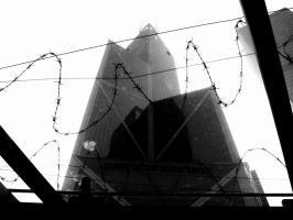 Towering Confinement by seansan