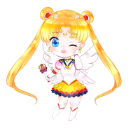 Sailor Moon by Nyanndere