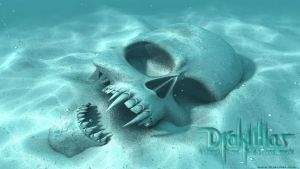 Death Skull Ocean by drakullas