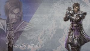 Wallpaper DW7 DLC - Xiahou Dun by FoxNangel