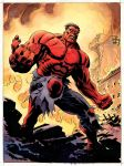 Red Hulk- color by BillReinhold